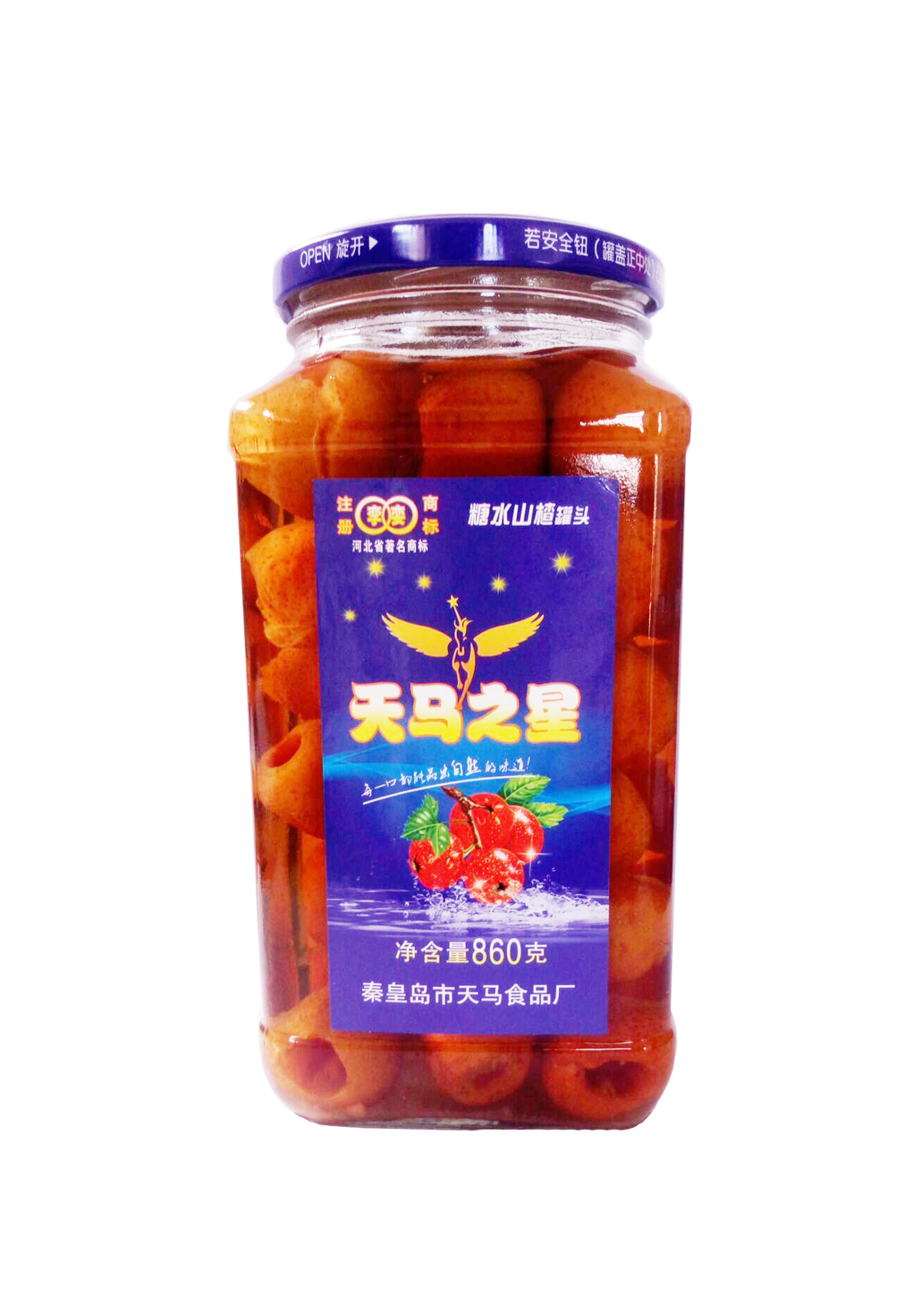 天马水果罐头860g系列_产品展示_秦皇岛市天马食品厂